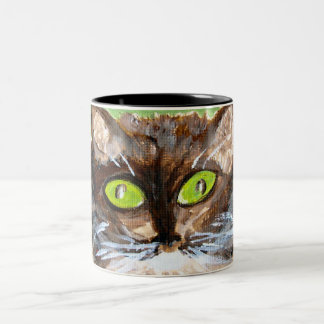 Mug/Cup - Cat Art on a Mug - Queen of the House
