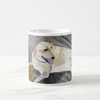 Mug, Cup Dog Acrylic Painting Artwork