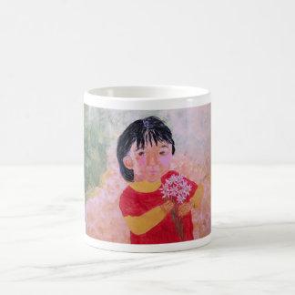 Mug/Cup - Girl With Daisies