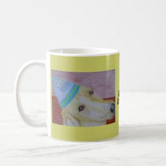 Mug/Cup - Happy Birthday - Dog Art