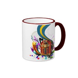 mug cup Jukebox Music