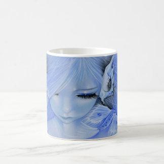 Mug cup mermaid fish creature