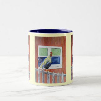 Mug/Cup - Rooster Art - Show Off