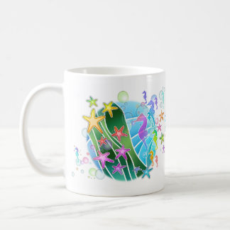 Mug, Cup - Under The Sea Pop Art