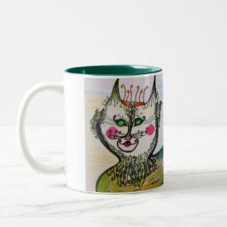 Mug/Cup Whimsical Catfish Art