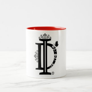 Mug cup white & black with dominant Images logo