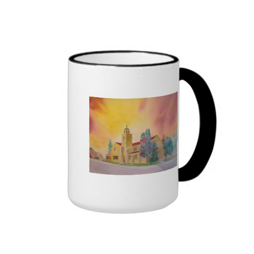 Mug (cup) with watercolor of St. Ann's Church