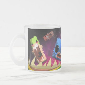 mug_D Frosted Glass Coffee Mug