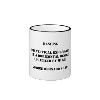 Mug - Dancing: the vertical expression
