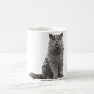 mug - deconstructed design - British shorthair cat