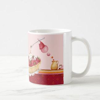 Mug decoración repostería ilustración taza clásica