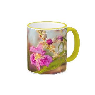 Mug: Desert Willow Flower #6 (Ringer) Ringer Mug