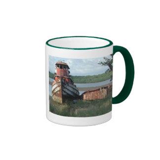 Mug: Discarded Tugboat Ringer Coffee Mug