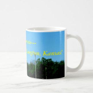 Mug:  Discover and Celebrate-- Longton, Kansas! Coffee Mug