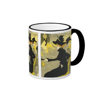 Mug: Divan Japonais by Toulouse-Lautrec Ringer Coffee Mug