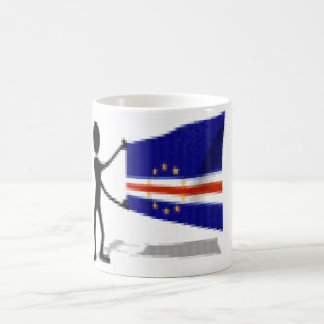 mug doll with flag Cape Verde