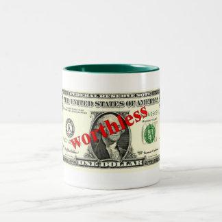 Mug - Dollar Bill - Worthless
