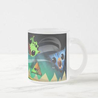 mug_E Frosted Glass Coffee Mug