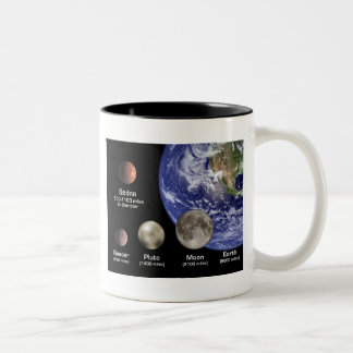 Mug / Earth - Pluto - Quoar - Sedna