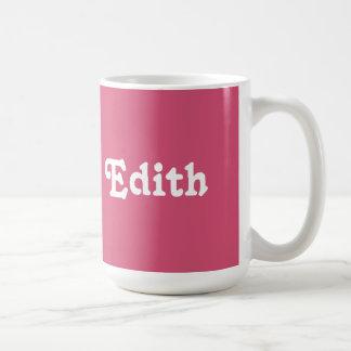 Mug Edith