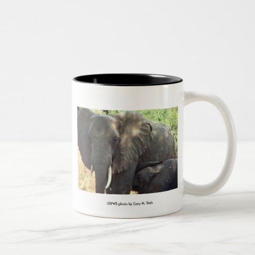 Mug / Elephant Mother and Baby