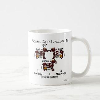 Mug - English as a Silly Language #1 - Cows