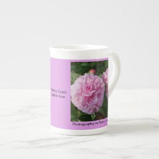 Mug ENGLISH ROSE Bishops Castle (pink) bone china