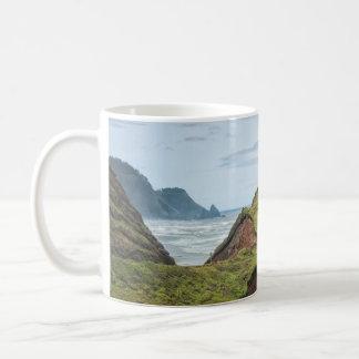 Mug: Eroded Hill On Oregon Coast Classic White Coffee Mug