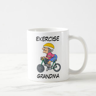Mug Exercising Grandma