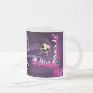 mug_F Frosted Glass Coffee Mug