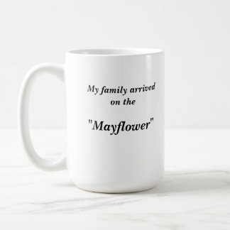 Mug - Family arrived on the ...