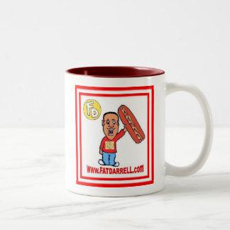 Mug-FD1 Two-Tone (red) Two-Tone Coffee Mug