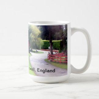 Mug featuring classic English rural landscape