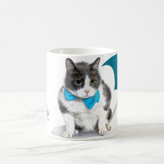 Mug:  Felix, the cat, in April Coffee Mug