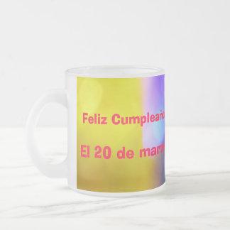Mug - Feliz Cumpleaños - Multicolor