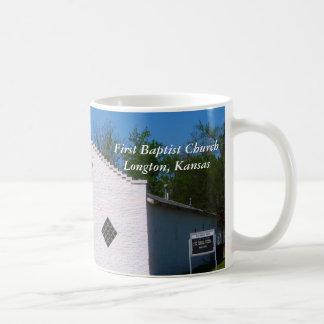 Mug:  First Baptist Church Longton, Kansas Coffee Mug