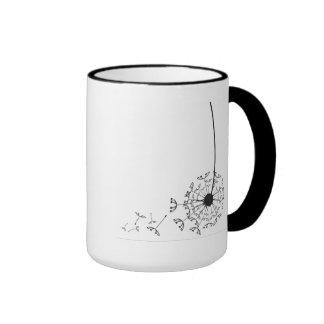 mug flower christmas