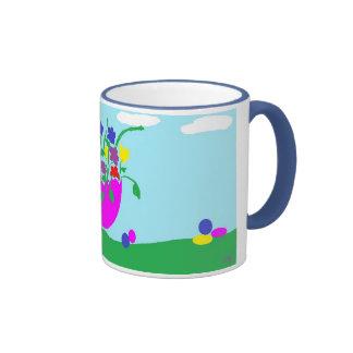 Mug for Easter with egg desgin