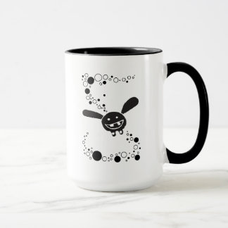 Mug for happy bunnies and stunned fish