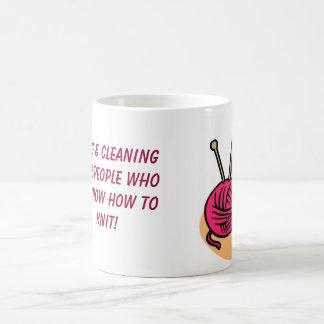 Mug for knitters