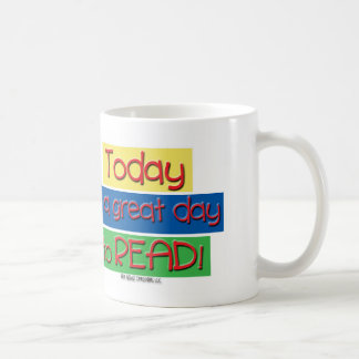 mug for reading club or librarian