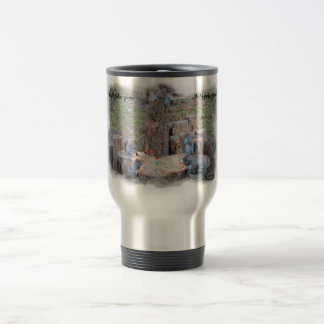Mug for the man room - wild poker game