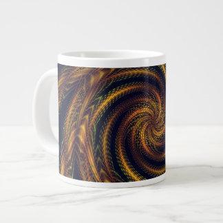 Mug Fractal Spiral Vortex 20 Oz Large Ceramic Coffee Mug