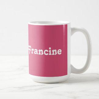 Mug Francine