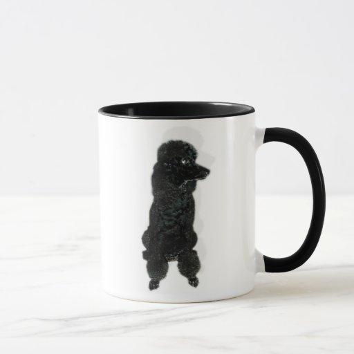 Mug French Poodle Cafe au lait