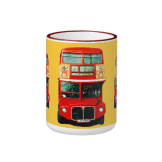 Mug from London with Buses