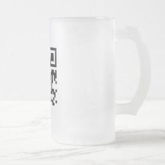 Mug (frosted glass, mega)