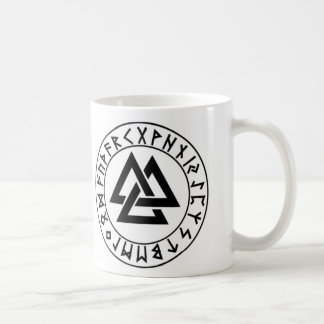mug_fullwra Tri-Triangle Rune Shield Coffee Mug