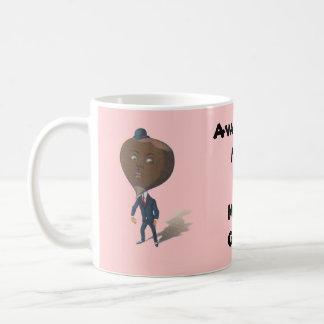 Mug ~ Fun Vintage Anthropomorphic Nutty Guy!