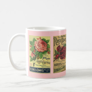 MUG ~ GARDENING VINTAGE ROSE CULTURE ~ ADVERTISING